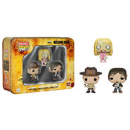Funko Pocket POP! Tin - The Walking Dead - RICK, DARYL & TEDDYBEAR WALKER (Pre-Order ships Feb.)