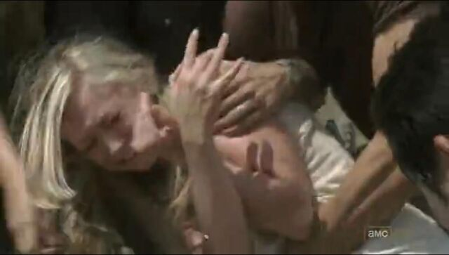 File:Beth being rescued by everyone else when she tried to reach her mother.JPG