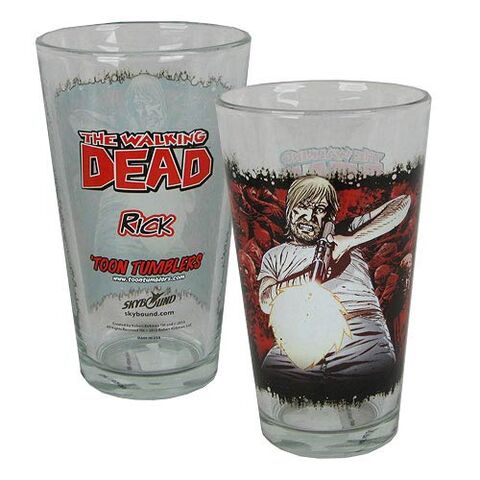 File:Rick Grimes Comic Series Pint Glass.jpg