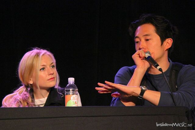 File:Emily looking at Steven at an interview shes so cute.jpg