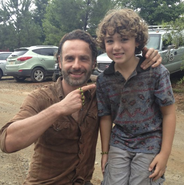 Luke and Andrew Lincoln