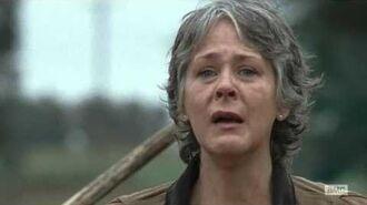 The Walking Dead 6x15 Carol kills the saviors