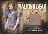 M20 Sophia as a Walker Khaki Cargo Pants