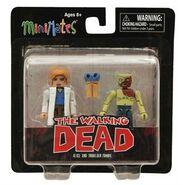 Walking Dead Minimates Series 4 Alice & Shoulder Zombie 2-Pk