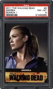 Trading Cards Season One - 6 Andrea