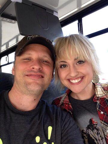File:Michael Jaegers and Kathryn Telford.JPG