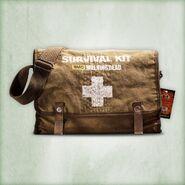 Walking Dead Two Person Survival Kit 2