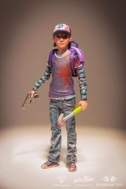 TWD-GAME-CLEMENTINE-STATUE