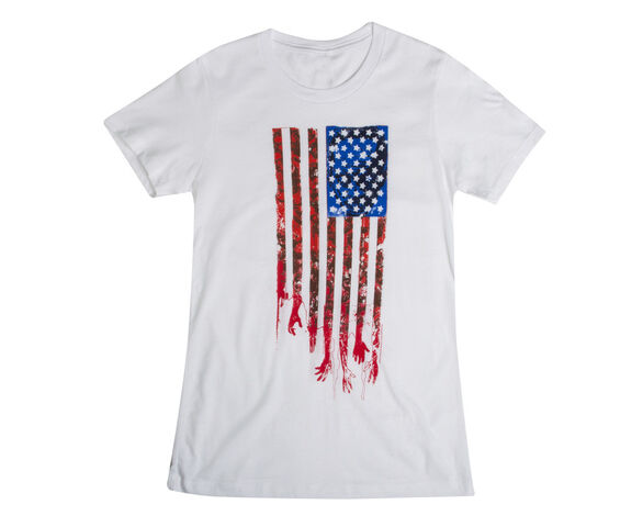 "File:THE WALKING DEAD ""FLAG"" T-SHIRT (WOMENS).jpg"