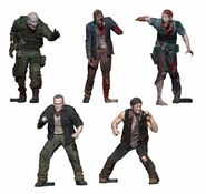 Daryl & Merle Woodbury Arena (The Walking Dead TV) McFarlane Building Sets Figure Pack