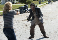 Andrea and zombies