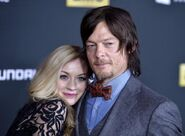 Emily with Norman at the red carpet so Cute