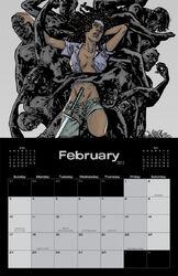 Image Comics February 2013 Calendar