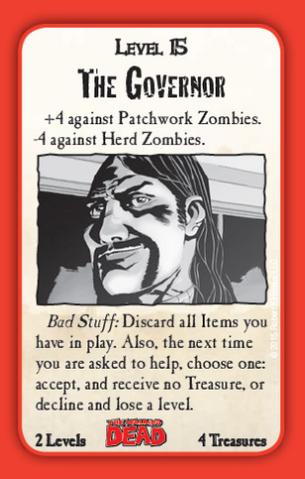 File:Munchkin Zombies- The Walking Dead The Governor card.png