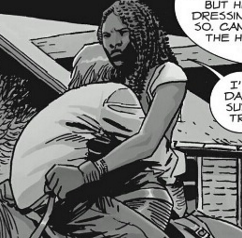 File:Michonne Carrying Aaron.png