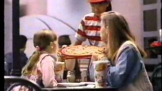 McDonald's Pizza commercial (1993)