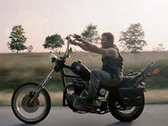 Daryl's motorcycle