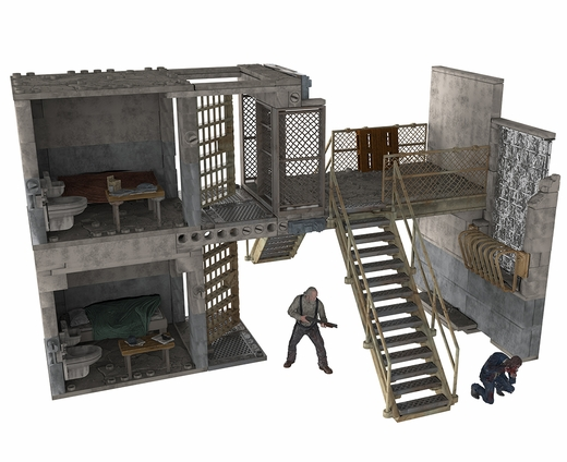 File:Prison Catwalk and Prison Cells (The Walking Dead TV) McFarlane Building Set.jpg