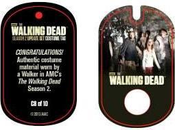 File:The Walking Dead - Dog Tag (Season 2) - Walker C8 (AUTHENTIC WORN COSTUME PIECE).jpg