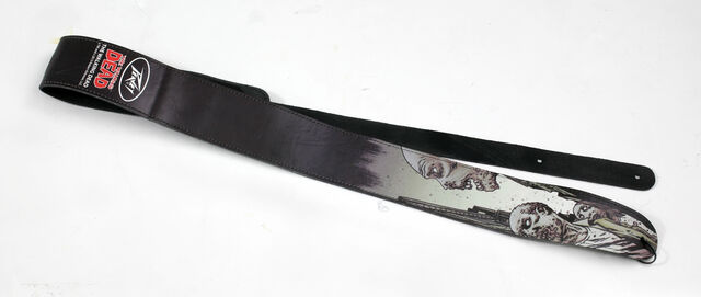 File:The Walking Dead Looking Zombie Leather Guitar Strap.jpg