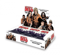 The Walking Dead Comic Book Trading Cards