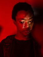 TWDSasha-Season7-Red