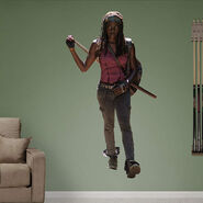 Michonne Fathead Wall Decal