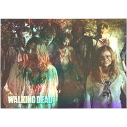 The Walking Dead - Sticker (Season 2) - S16 (Foil Version)