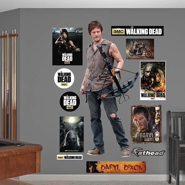 Fathead Wall Decals Walking Dead Wiki FANDOM Powered By Wikia - Portal 2 wall decals