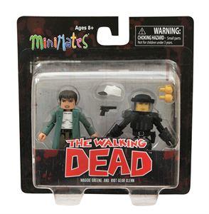 File:Walking Dead Minimates Series 5 Maggie and Riot Gear Glenn 2-pk.jpg