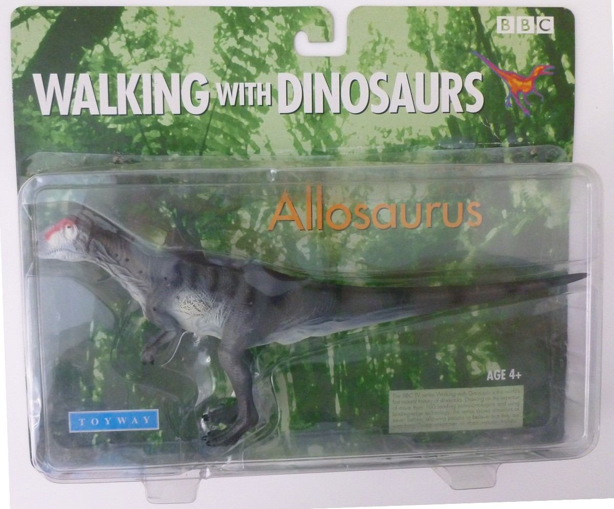 Image - Allosaurus toy boxed.jpg | Walking With Wikis ... Walking With Dinosaurs Allosaurus Toy