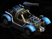 Rocket Buggy Vehicle