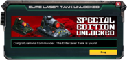 LaserTank-Elite-SpecialEdition-UnlockMessage