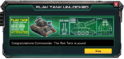 FlakTank-UnlockMessage