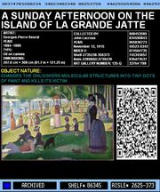 an overview of the painting a sunday on la grande jatte in 1844 60% off seurat - sunday afternoon on the island of la grande jatte - find oil painting reproductions and art reproductions at overstockart guaranteed low.