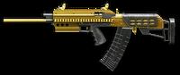 Saiga Bullpup Gold Render