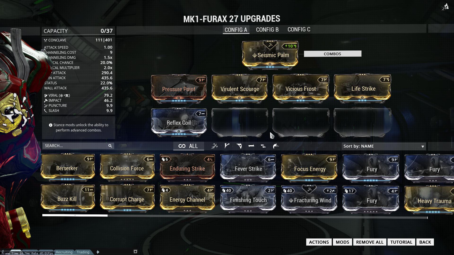 Furax Build Warframe