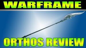 Warframe Orthos Review Gameplay