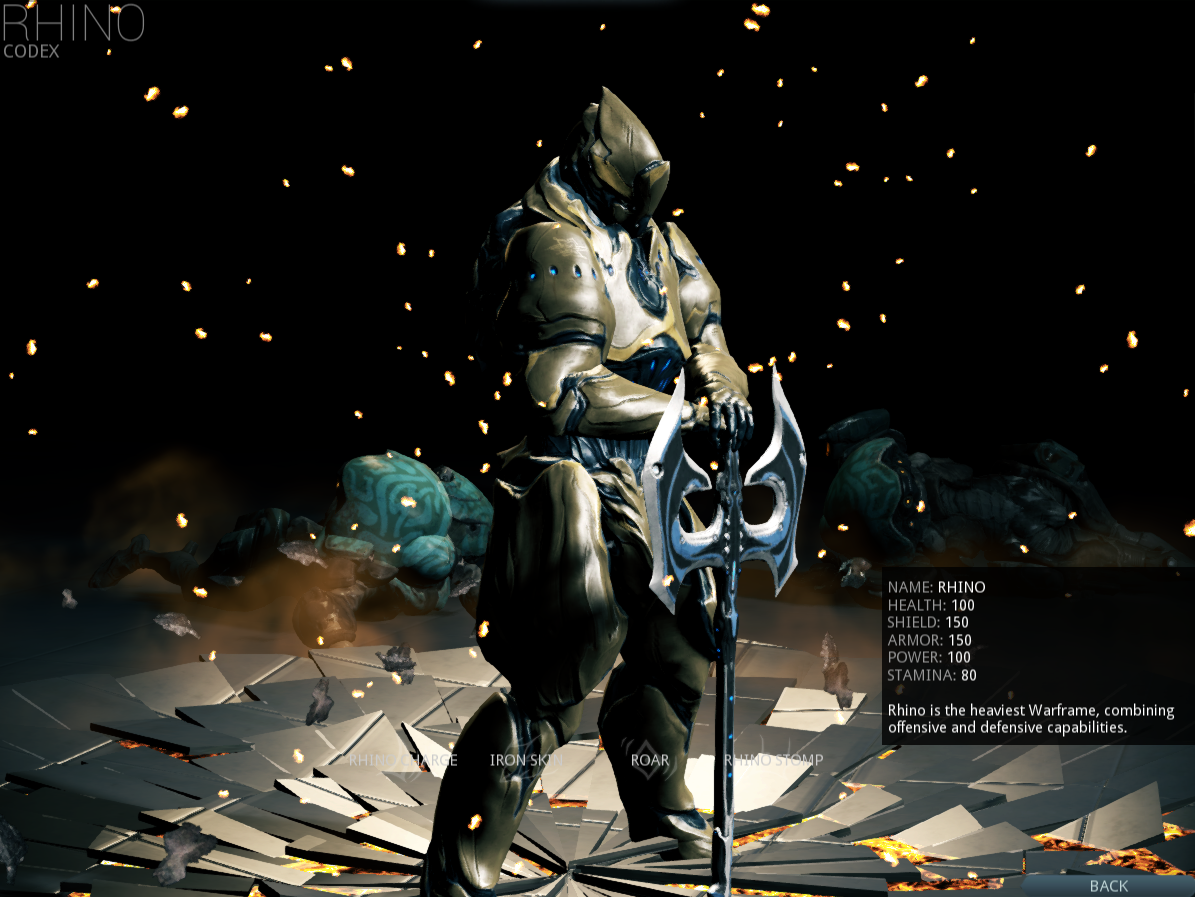 warframe how to build rhino