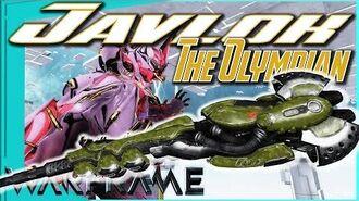 JAVLOK - The Olympian Choice 3 forma - Warframe