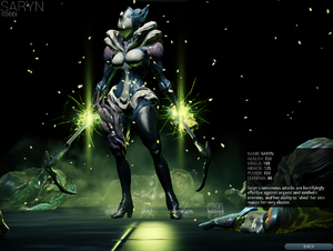 how to get saryn prime