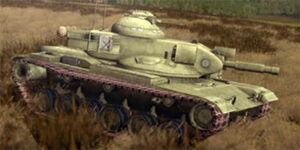 Ingame M60A2E1 Starship