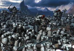 Luna Wolves Legion combat