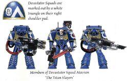 Devastator Squad Atavian