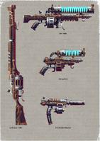 Skitarii Weapons 1