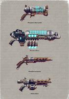 Skitarii Weapons 2