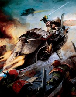 Sammael Jetbike battle