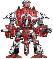 Knight Crusader Red Might