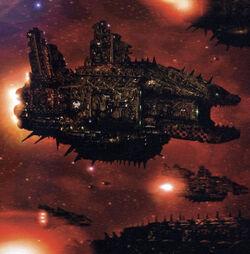 Ork Kill Cruiser Fleet