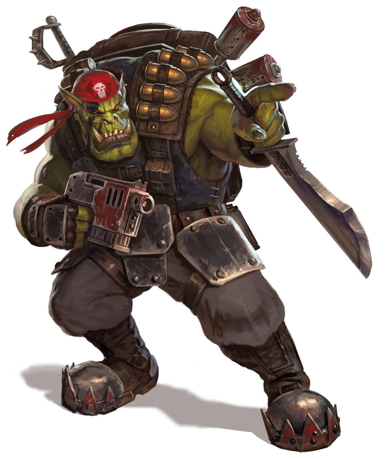 SPARTAN-IIs Run The Ork/Imperial Guard Gauntlet
